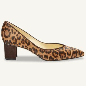 $425 SARAH FLINT Sz 6.5  'Perfect Emma' Leopard